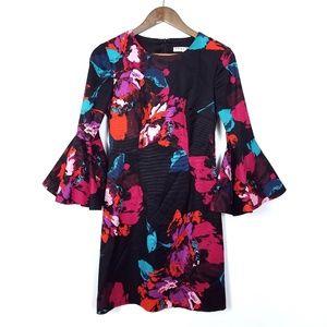 Trina Turk Bright Floral Sheath Dress